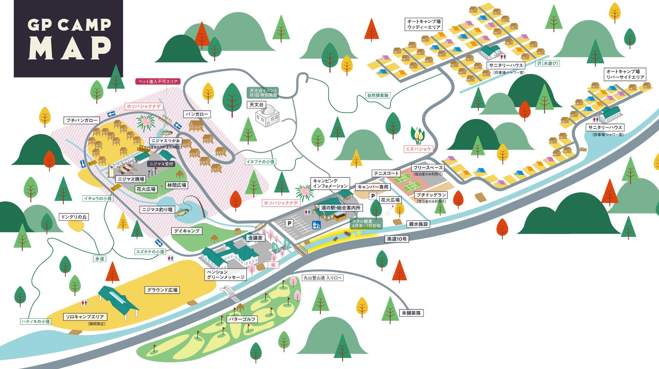 GP CAMP MAP