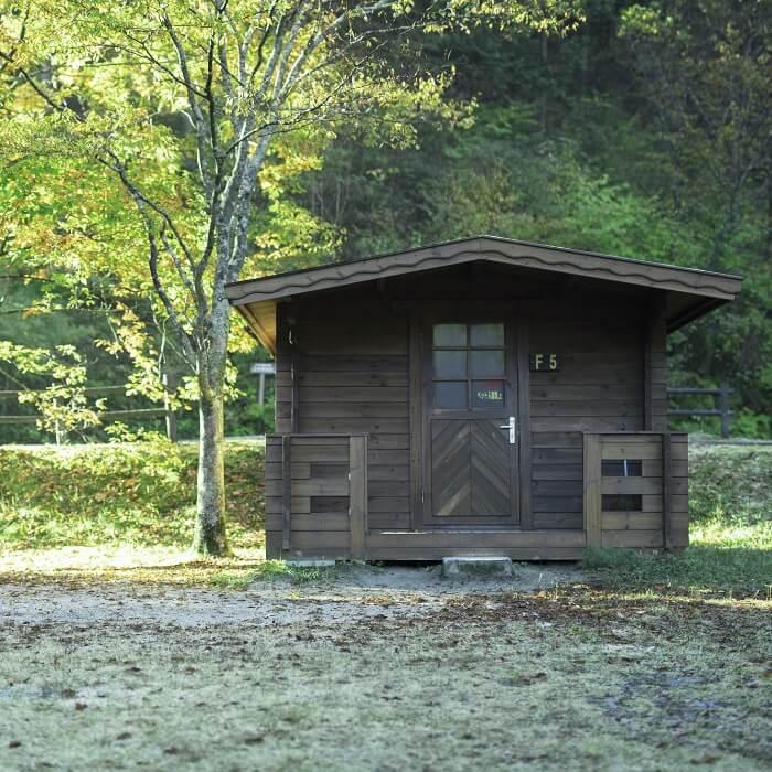 (2)オートキャンプ場 キャビン付サイト